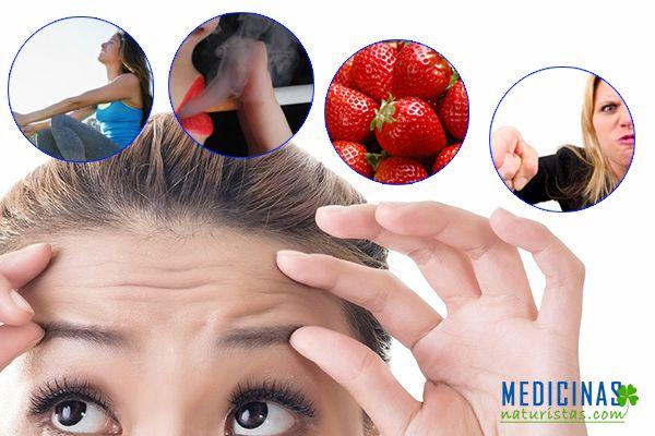 Como evitar las arrugas prematuras en mujeres y hombres