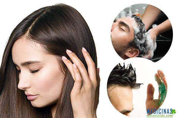 Cuero cabelludo saludable, hombres, mujeres