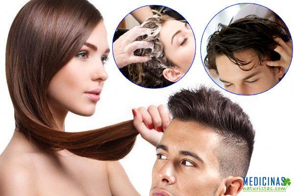 Cabello cuidado natural para una hermosa cabellera