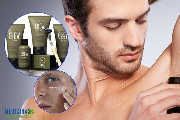 Productos de estética para hombres