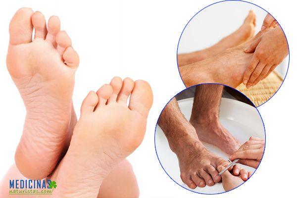 Pies sanos: Pedicura para cuidar los pies en varones