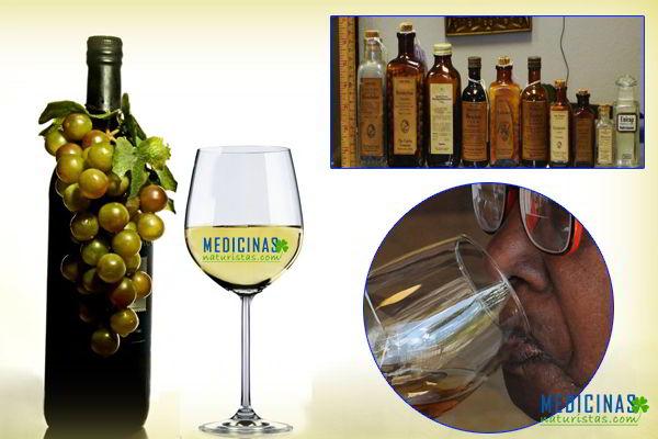 vinos, licore medicinales
