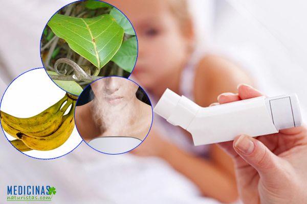 Asma en niños, alternativas naturales y remedios caseros