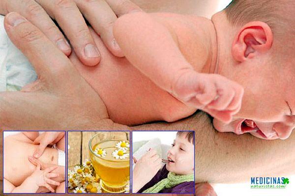 Cólicos estomacales en bebes soluciones naturales