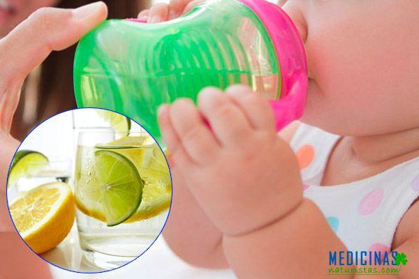 Deshidratación infantil, hidratantes naturales para niños