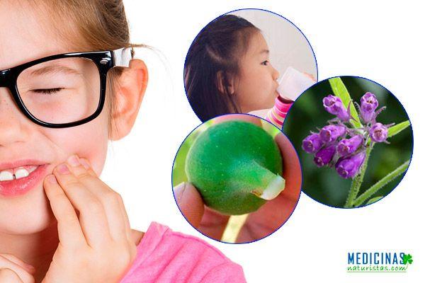 Flemón en niños, como aliviar el dolor de diente