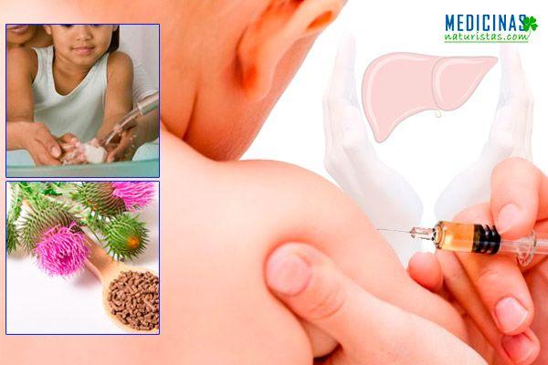 Hepatitis infantil como desinflamar el hígado en un niño