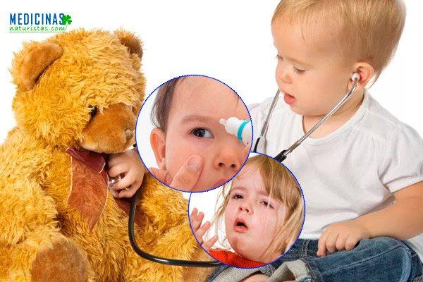 Infecciones comunes durante la niñez