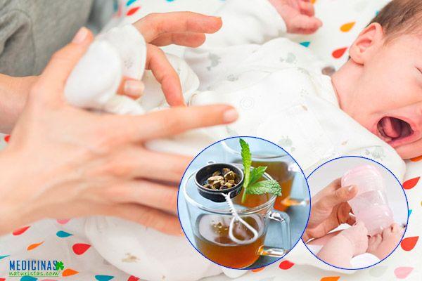 Mala digestión en niños, infusiones medicinales
