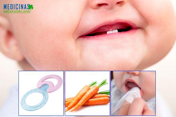 Primeros dientes, malestares y cuidados para bebes