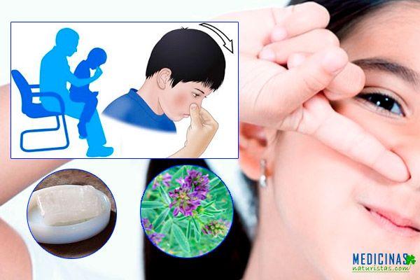 Sangrado nasal en niños