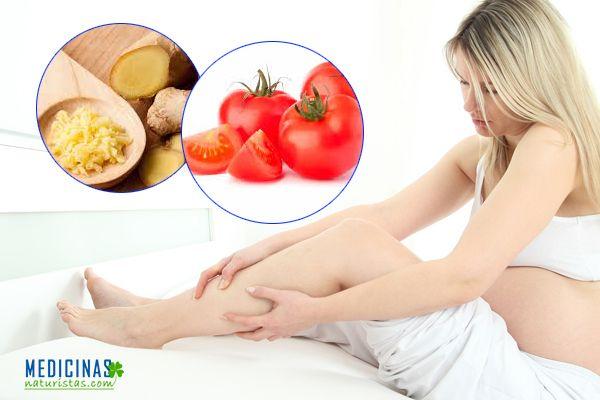 Calambres musculares durante el embarazo alternativas naturales