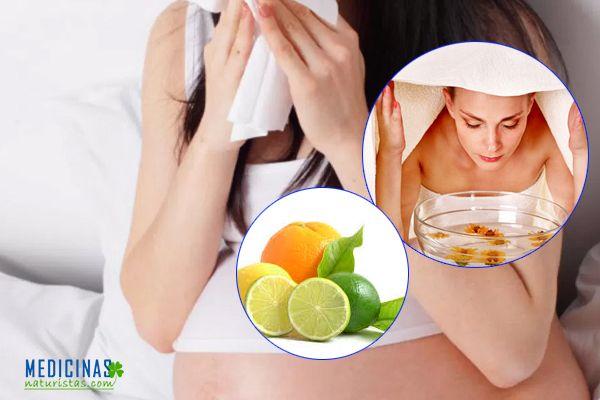 Congestión nasal durante el embarazo, como aliviarse