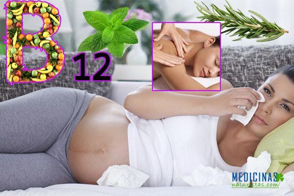 Depresión durante el embarazo, recomendaciones naturales