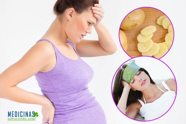 Dolor de cabeza, migrañas durante el embarazo