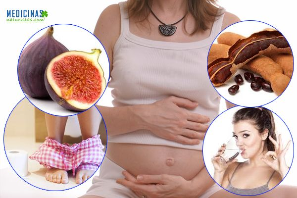Estreñimiento durante el embarazo, elimínalo de manera natural