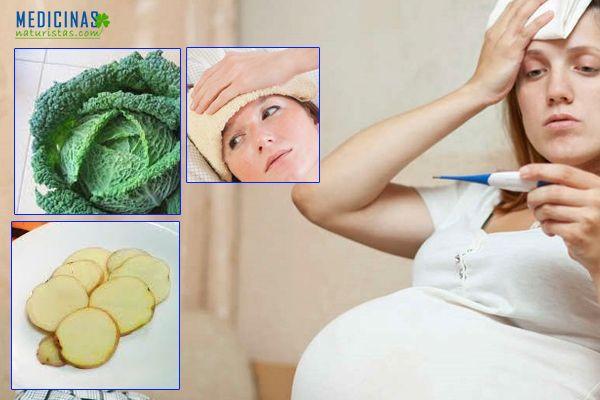 Fiebre durante el embarazo, recomendaciones naturales