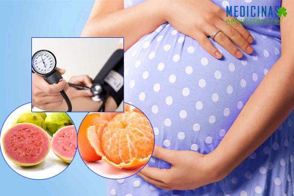 Hipertensión arterial, presión alta durante el embarazo, alternativas naturales