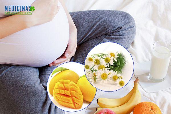 Pirosis, agruras durante el embarazo, alternativas naturales