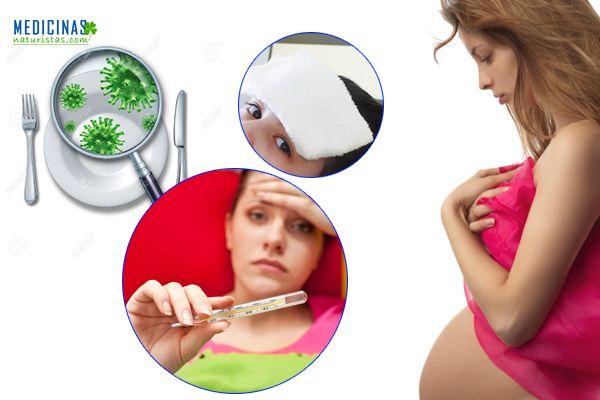Tifoidea fiebre peligrosa durante el embarazo