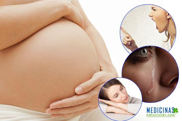 Embarazo, alteraciones hormonales y psicológicos de una mujer