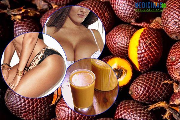 Aguaje fuente de hormonas, propiedades medicinales
