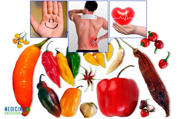 Ajíes beneficios para la salud