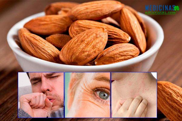 Almendras los frutos para fortalecer el cerebro