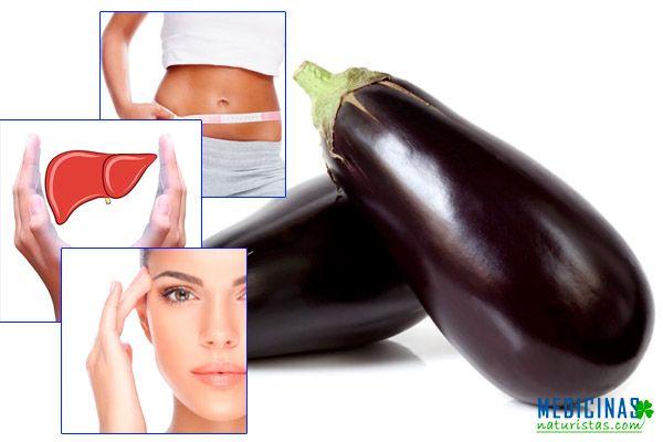 Berenjenas para un buen funcionamiento de hígado y vesícula