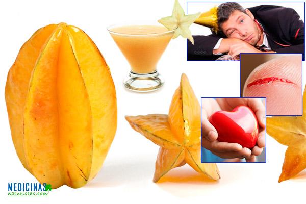 Carambola la fruta estrella para la resaca