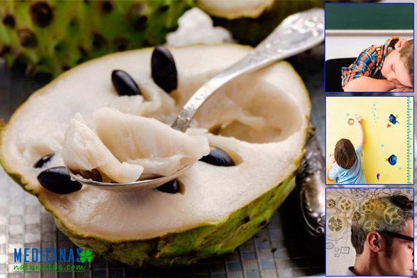 Chirimoya fruta para deportistas, mejora el sistema muscular
