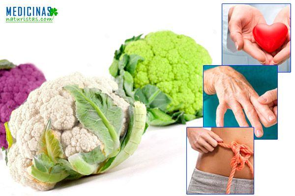 Coliflor ¿Por qué debemos consumir esta verdura?