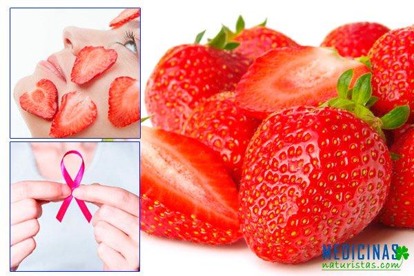 Fresa propiedades antioxidantes para proteger la salud y belleza