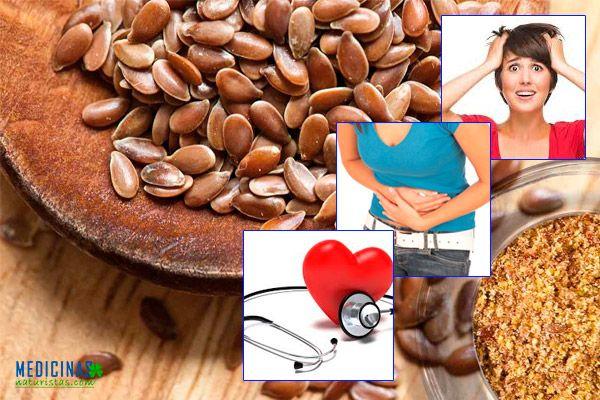 Lino beneficios para la salud