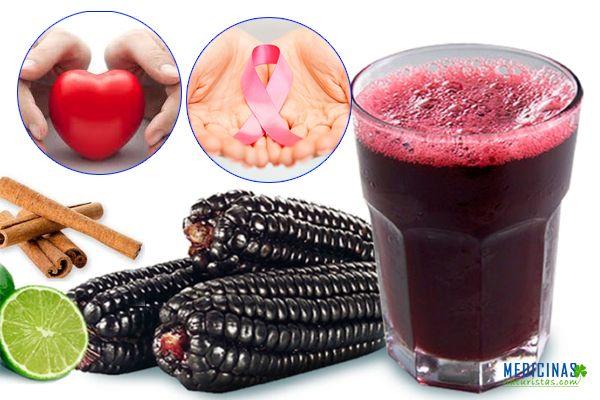 Maíz morado propiedades medicinales, poderoso antioxidante