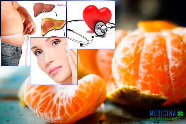 Mandarina beneficios de su consumo