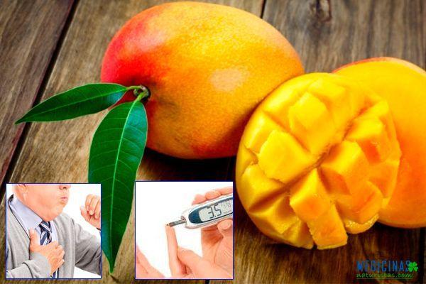 Mango beneficios expectorantes de sus hojas y frutos