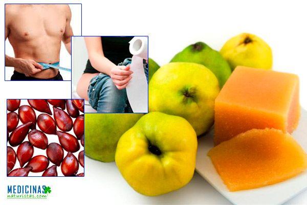 Membrillo para diarreas y obesidad