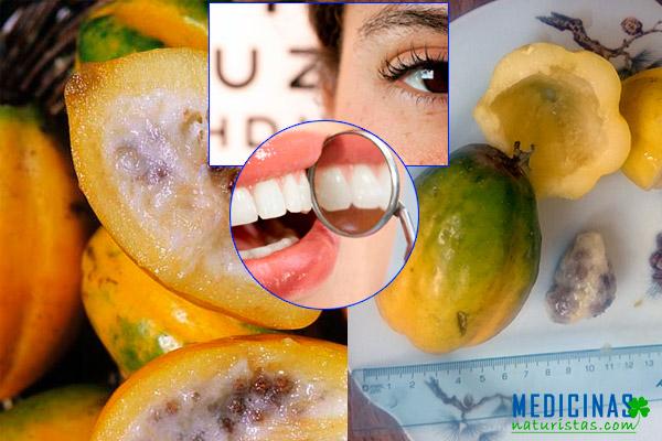 Papaya andina, protege la vista y evita la caries