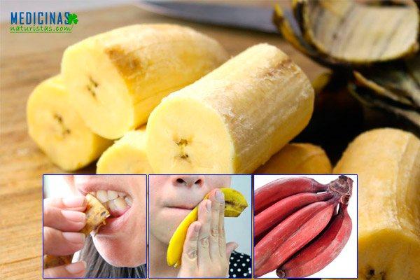 Plátano fruta para ganar masa muscular no engorda