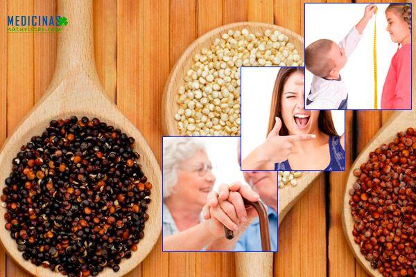 Quinua maravillosa semilla andina de gran valor nutricional