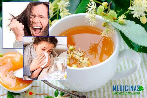 Tilo para controlar los nervios y eliminar la gripe