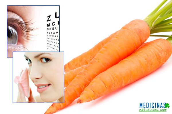 Zanahoria propiedades, buena visión y una vida sin cáncer