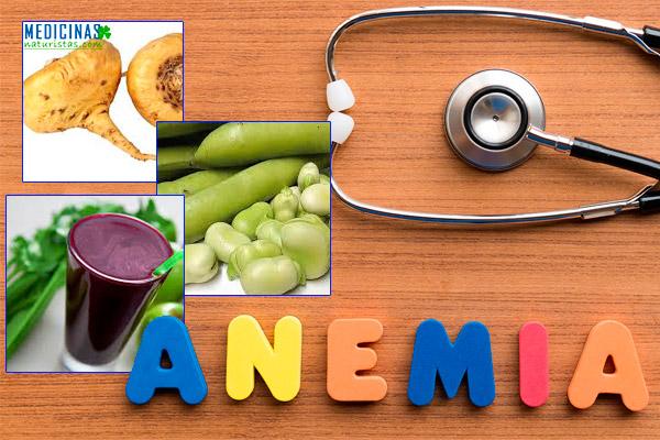 Anemia alimentos para subir la hemoglobina