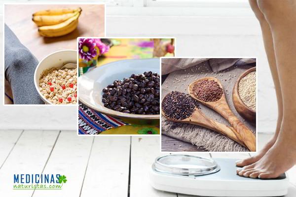 Alimentos saludables para aumentar o subir de peso