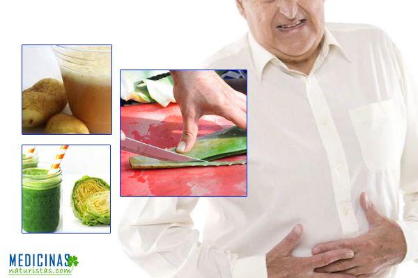 Gastritis alimentación antiácida para una pronta mejoría