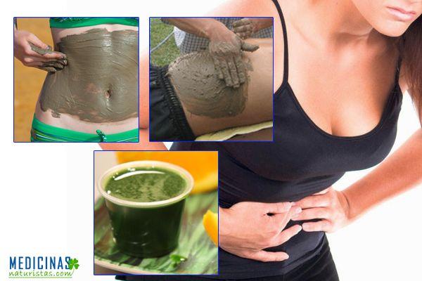 Cataplasma de arcilla o barro para la gastritis
