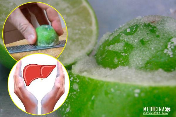 Limón congelado para desintoxicar el organismo
