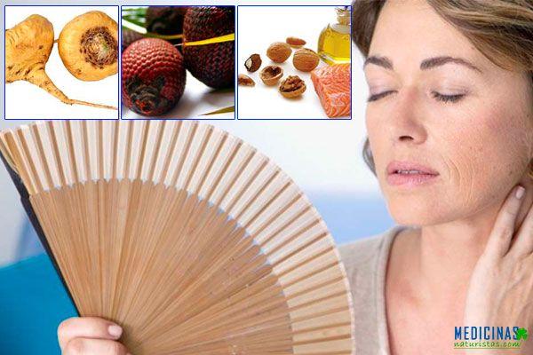 Menopausia alimentos para evitar síntomas