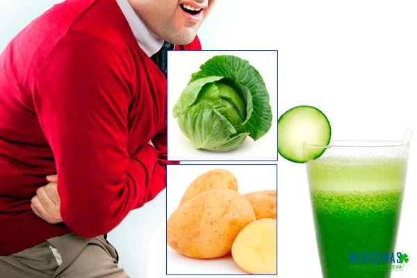 Úlceras gástricas tratamientos naturales